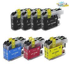 10x LC103XL lc103xl w/ New Chip for Brother MFCJ245 J285DW J450DW J470DW J475DW