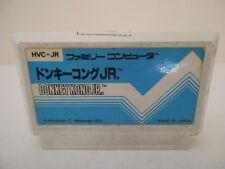 DONKEY KONG JR - NINTENDO FAMICOM - Jeu NES NTSC Jap Loose