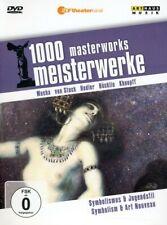 1000 Masterworks: Symbolism & Art Nouveau (2011, DVD NEUF) (RÉGION 1)