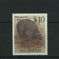 NZ154) New Zealand 1988 $10 Bird - Little Spotted Kiwi MUH
