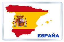 SPAIN FLAG MAP FRIDGE MAGNET SOUVENIR IMAN NEVERA