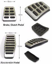 Manual Pedal Set Accel Clutch Brake Foot Rest For Hyundai Tiburon Coup 2003 2008