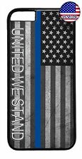 Case Cover For iPhone 7 6 6s Plus 5 5s 5c 4s Thin Blue Line Flag United Police