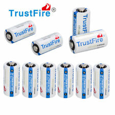 10x TrustFire CR123A 3V Lithium Camera Battery Non-Rechargeable Batteries Cell
