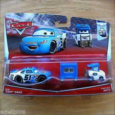 Disney PIXAR Cars RUBY OAKS & EASY IDLE PITTY 2PK diecast PISTON CUP 7&8/18 2015