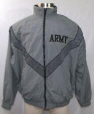 ARMY PT Jacket IPFU Improved Physical Fitness Uniform Lined Jacket sz Large Reg