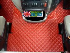 Camion Eco Cuir Tapis de sol Set Fit DAF XF 105 2012 - 2013 automatique-rouge