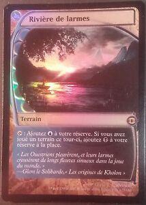 Rivière de Larmes PREMIUM / FOIL VF - French River of Tears - Magic Mtg NM