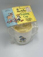Vintage Danara Disney Donald Duck 2 Handled Tip Proof Sippy Cup New In Package