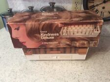 Vintage Clairol Kindness Deluxe 3-Way Hairsetter Hair Curler Warmer