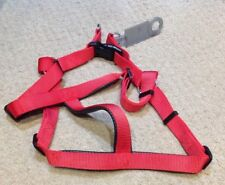 PADDED HARNESS FOR DOGS XLARGE  RED