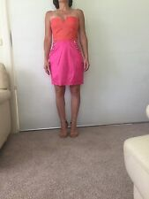 Dress.  Evening.  Bebe, size 10.  New with tags $20!!