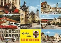 GG12061 Bad Mergentheim Schaefer, Kurpark Schloss Karlsquelle Marktplatz