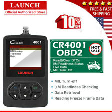 LAUNCH Check Engine OBD2 OBDII CAN Scanner Car Diagnostic Fault Code Reader Tool