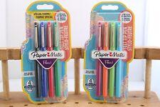 New Paper Mate Flair Medium Felt Tip Pens 4 Pack, 2 Colour Packs Available, UK