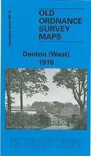 MAP OF DENTON (WEST) 1916