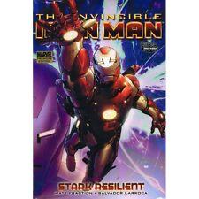 Invincible Iron Man Vol 5: Stark Resilient by Fraction & Larroca 2010 HC OOP
