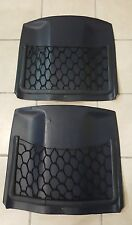 Mercedes W123 blue seat back panels with storage net 300d 240 280