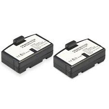2er set de batería Ni-MH para Sennheiser set 20 50 55 TV 250 500 810 820 2500