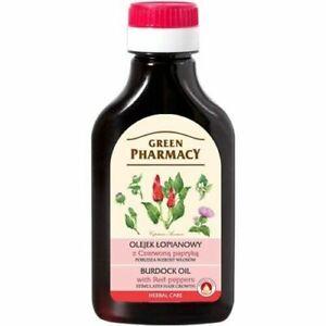 Green Pharmacy Burdock Oil with Red Pepper 100ml