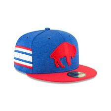Buffalo Bills NFL On-Field Retro New Era 59FIFTY Fitted Hat - Blue/Red