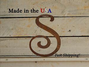 "12"" Metal Letter-Wedding Decor-Wall Decor-Flat Letters-Rustic Decor-F1002"