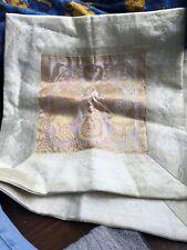 2 X Cushion Covers Elephant Gold & Cream