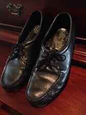 SAS Tripad Comfort walking shoes black leather mens oxford lace up shoes 13.5N