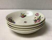 "Vintage, Cauldon China, England Made Set of 4 - 5 1/2"" Snack/Dessert Bowls"