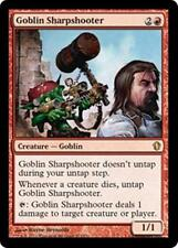 GOBLIN SHARPSHOOTER Commander 2013 MTG Red Creature — Goblin RARE