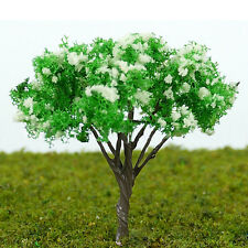 20pcs DIY HO Scale Architectural Model Tree Scenery Railroad Layout 65mm