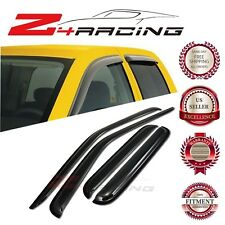 For 00-04 Nissan Frontier Crew Cab Vent Shade Guard Window Visors Deflector 4PC