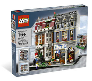 LEGO Creator Modular Building 10218 Pet Shop. New and unopened.