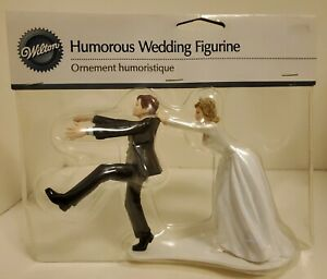 Wilton Wedding Cake Topper Humorous: Oh, No you don't (free shipping) New