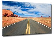 Leinwand Bild USA Landschaft Monument Valley Strasse