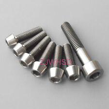 7pcs Ti Titanium Bolt Screw Kit M5 Conical & M6 Square for Headset Cap Stem FSA