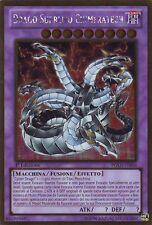 Dragon Supreme Chimeratech YU-GI-OH! PGLD-IT056 Ita RARE GOLD 1 Ed