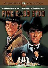 Five Card Stud (DVD, 2003) Dean Martin, Robert Mitchum