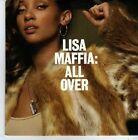 (AO900) Lisa Maffia, All Over - DJ CD