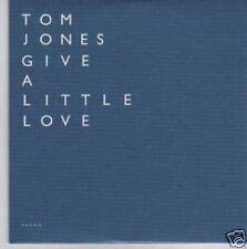 (852I) Tom Jones, Give A Little Love - DJ CD
