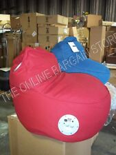 Red Pottery Barn Kids Teen Ipod Ichair Music Itunes Auxiliary Chair Beanbag