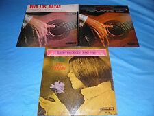 Los Mayas - 3 x Albums LOT - RARE 3XLP's / Latin Folk