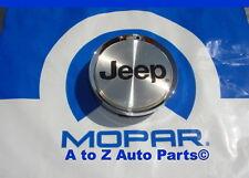 NEW 2000-2004 Jeep Grand Cherokee 17 INCH CHROME Wheel Center Cap, OEM Mopar