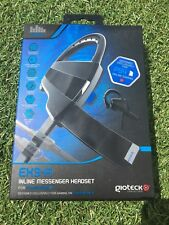 Gioteck Ex3-r EX3R Wired Inline Messenger Headset for Sony Ps4 PlayStation 4