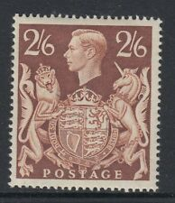 GB KGVI 1939 2/6d Brown Val  SG 476 Lightly Mounted Mint Cat £95