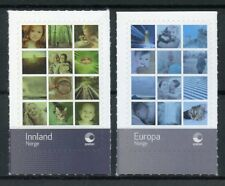 Norway 2018 MNH Personalised Stamps 2v S/A Set People Cats Nature Stamps