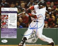 PABLO SANDOVAL BOSTON RED SOX SIGNED AUTOGRAPHED 8X10 PHOTO JSA R10516