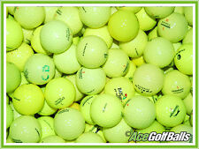 50 Mixed YELLOW Lake Golf Balls - PEARL / AAA - from Ace Golf Balls