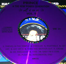 Prince & The New Power Generation Live Vol. II CD Super Rare Get Off Cream 1999