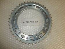 RUOTA Dentata Posteriore Chain Sprocket Final HONDA nt400 Bros BJ. 88-89 NEW NUOVO